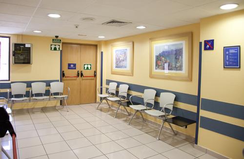 Sala de espera SCA
